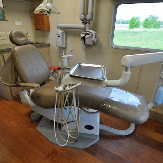 Mobile Dental Unit Interior
